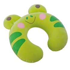Iklan Intex 68678 Bantal Leher Anak Hijau Kidz Travel Pillow Green Frog Bantal Travel Anak Motif Kodok