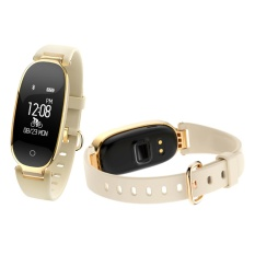 IP67 Tahan Air Bluetooth Smart Gelang S3 Monitor Jantung GPS Kebugaran Tracker Kesehatan Sport Watch untuk Wanita-Intl