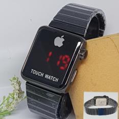 Iphone Apple Touch Watch I Phone Gold Jam Tangan Wanita Pria Fashion - BISA BAYAR DI TEMPAT