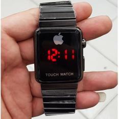 Iphone Apple Touch Watch I Phone Gold Jam Tangan Wanita Pria Permium Terbaru