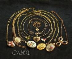 Adalah Bekas 【Cmoi 】Victoria Wanita Kepala Seperti Kamu Ukiran Gu Artikel Barat Curio Perhiasan Kalung Vintage-Intl