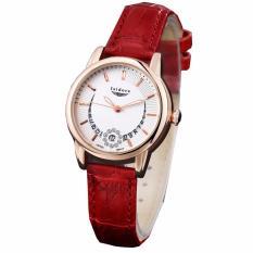 Diskon Isidore Jam Tangan Fashion Wanita Water Resistant Leather Strap 8499 Dial Merah Isidore Indonesia