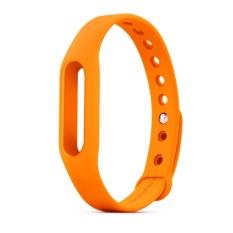 Jual Istomp Silicone Strap Band For Xiaomi Mi Band 2 Orange Baru