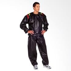 Jaket Baju Sauna Suit Unisex - Hitam