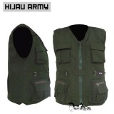 Jaket Rompi Army Outdoor Keren Motor Mancing Safety Hunting Original