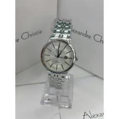 Jam - Jam Tangan Alexandre Christie Ac 8348 Silver White Wanita - Shops