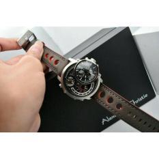 Jam Tangan Alexandre Christie AC 9221 MT Pria Silver Limited Edition