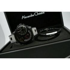 Jam Tangan Alexandre Christie Pria AC 9221 MT Black Limited Edition