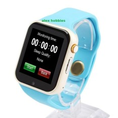 Jam Tangan Anak Jam Handphone - Smart Watch - Blue ( Box Original, Kabel USB, Buku Panduan)