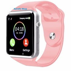 Jam Tangan Anak Jam Handphone - Smart Watch - PINK NEW ( Box Original, Kabel