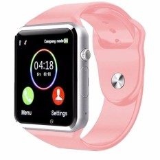 Jam Tangan anak jam Handphone/Android SmartWatch Pink New ( Box Original, Kabel USB