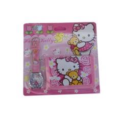 Jam Tangan Anak Karakter Hello Kitty