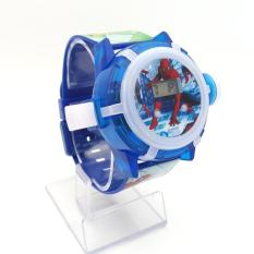 Jam tangan anak laki-laki proyektor LED Suara