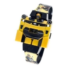 Jam Tangan Anak Model Robot Transformers Bumblebee - Kuning/hitam By Sailah Collection.