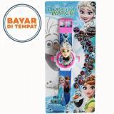 Review Jam Tangan Anak Proyektor Model Karakter 3D Frozen Universal Di Indonesia