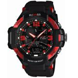 Beli Jam Tangan Analog Digital Rugger 288 Black Red Blue Cicilan