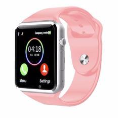 Jam Tangan Android Anak Jam Handphone - Smart Watch - PINK NEW - Alea Galery