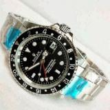 Review Jam Tangan Automatic Ro L Ex Gmt Master Ii Date Silver Plat Black