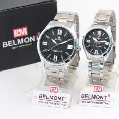 Jam Tangan Belmont Steel Couple Bm5159 Asli