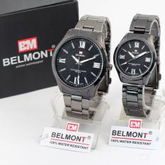 Jam Tangan Belmont Steel Couple BM5159