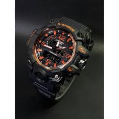 Jam Tangan Casio Pria /Cowok G Shock Gwg1000 Black Orange - 6Lvpc1