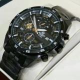 Jam Tangan Casioo Edifice Efr 556D 1A2Vudf Stainless Fullblack Promo Beli 1 Gratis 1