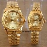 Spesifikasi Jam Tangan Couple Datejust Stainless Steel Water Resist 10M Terbaik