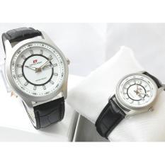 Jam Tangan Couple Original Terbaru-Strap Leather SA 0308