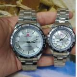 Diskon Jam Tangan Couple Swiss Army Silver Stainless Sa 5221 Rz