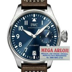 JAM TANGAN COWOK IWC SCHAFFHAUSEN BIG PILOT BROWN MIRRON COPY 1:1