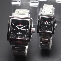 jam tangan cuople swiss army kotak tanggal hari aktif harga grosir
