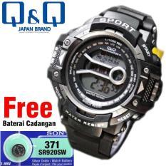 Jam Tangan Digital QQ878G25 Unisex (Pria & Wanita) Water Resistant