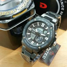 Jual Digitec Ori For Man Dual Time Rubber Strap Date Day On Dg0911 Branded