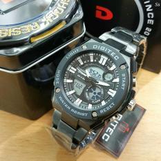 Pusat Jual Beli Digitec Ori For Man Dual Time Rubber Strap Date Day On Dg0911 Indonesia