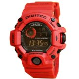 Toko Jam Tangan Digitec Original Limited Edition Digital Merah Termurah