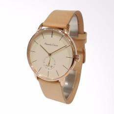 Jam tangan Elegant Pria/ Wanita - Alexandre Christie Simple Life - Rose Cream