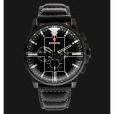 Beli Jam Tangan Expedition Man Black Dial Black Leather Strap Online