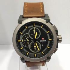 Jam Tangan EXPEDITION ORIGINAL PRIA E-6612 HITAM COKLAT