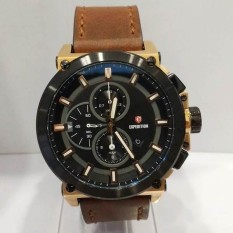 Jam Tangan EXPEDITION ORIGINAL PRIA E-6612 ROSEGOLD COKLAT