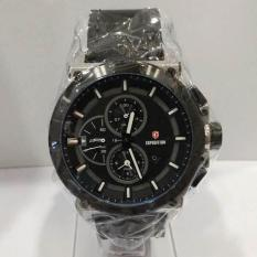 Jam Tangan EXPEDITION ORIGINAL PRIA E-6612 SILVER HITAM