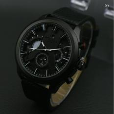 Harga Jam Tangan Fashion Pria Leather Strap Crono Aktif Lengkap