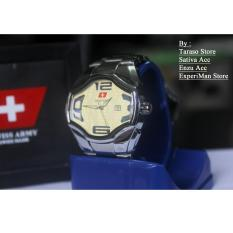 Harga Jam Tangan Fashion Pria Swiss Army Cobra Black Bp008 Original