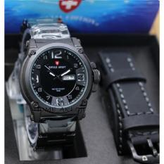 Jam Tangan Fasion Pria -Ter Baru-Strap Kulit-SW3349HA