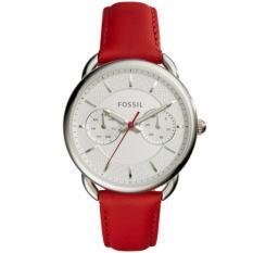 Jual Fossil Jam Tangan Wanita Fossil Es4122 Tailor Multifunction Red Leather Watch Di Indonesia