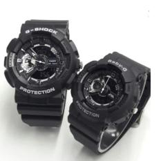 Review Tentang Jam Tangan Gshock And Babyg Couple Yellow Resin Strap Watches Ga110B9A Ba110B9A