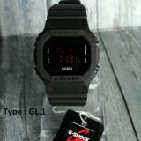 Harga Jam Tangan Gshock Unisex Premium Anti Air Full Black Multi Ori