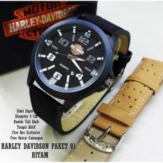 Jam Tangan Harley Davidson Paket Sky-01 Semi Super - 45Ro1t