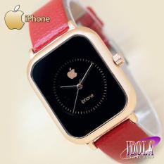 Jam Tangan IPhone__Jam Tangan Wanita - Tali Kulit - Geuine Leather Strap - [LIMITED EDITION] - Apple_Watch