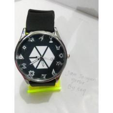 Jam Tangan Kpop Exo Element Hitam - 8Ccxcp