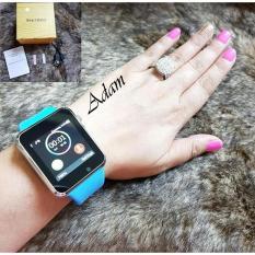 Jam Tangan LED Layar Sentuh - What Shap, SMS, MP3, Tlpn